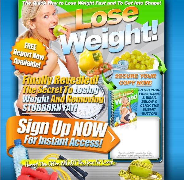 Lose weight around your waist fast